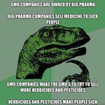 GMO Dinosaur