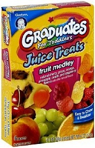 Gerber Juice Treats
