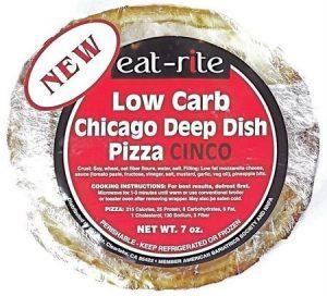 Low Carb Pizza Cinco