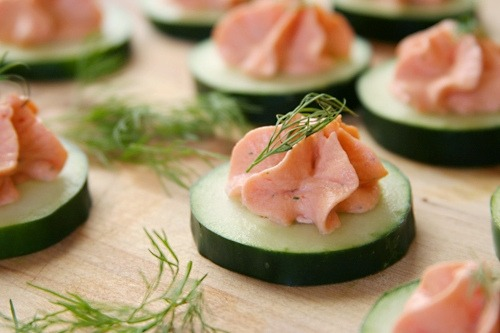 Low Carb Smoked Salmon Mousse