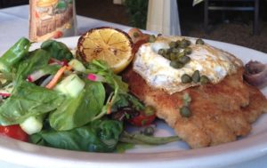 Low Carb Veal Pork Chicken Schnitzel ala Holstein