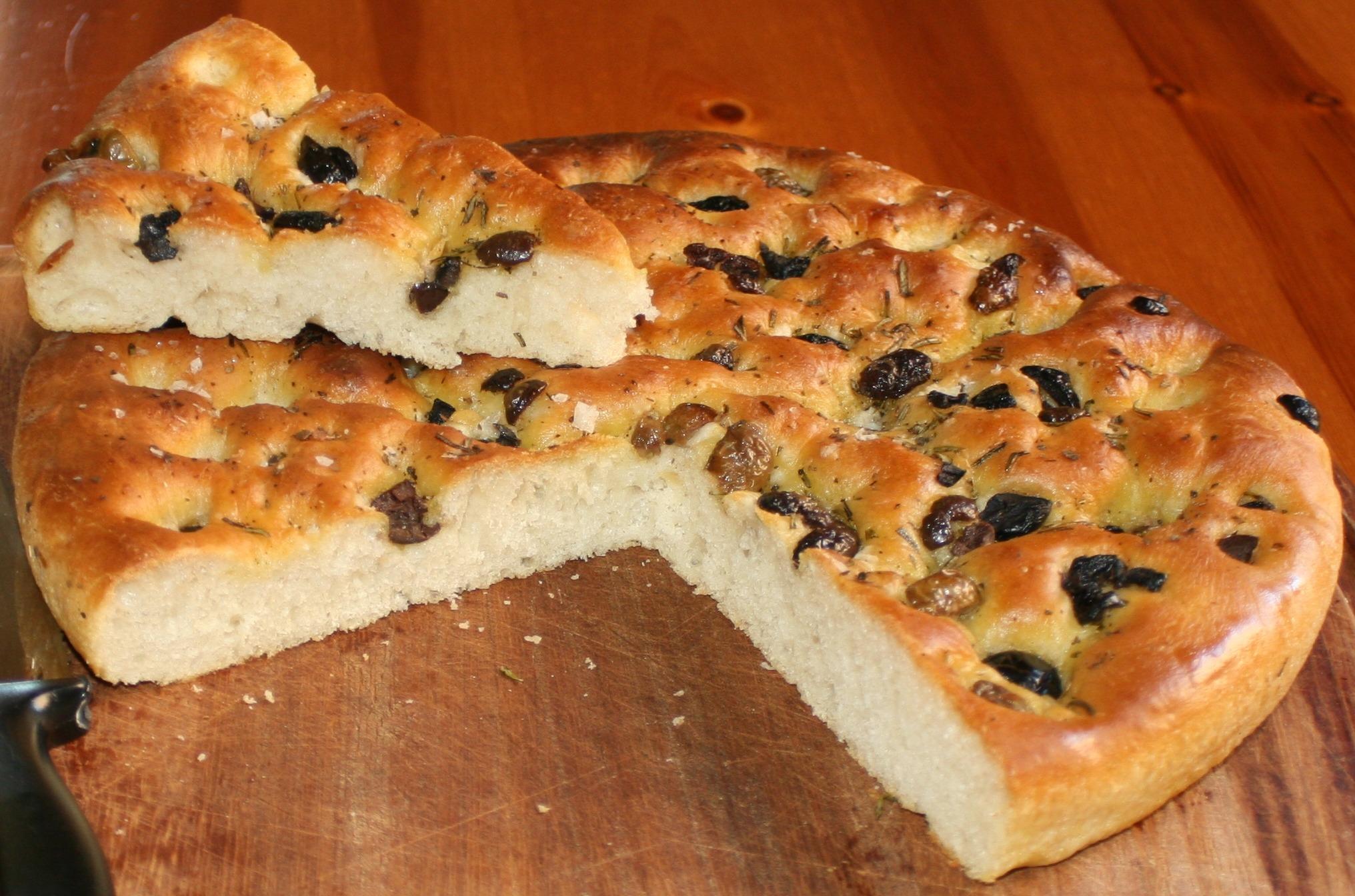 Low Carb Carbalose Flour Focaccia Bread - Low-Carb Scams