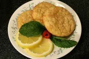 Low Carb Lemon Drop Cookies