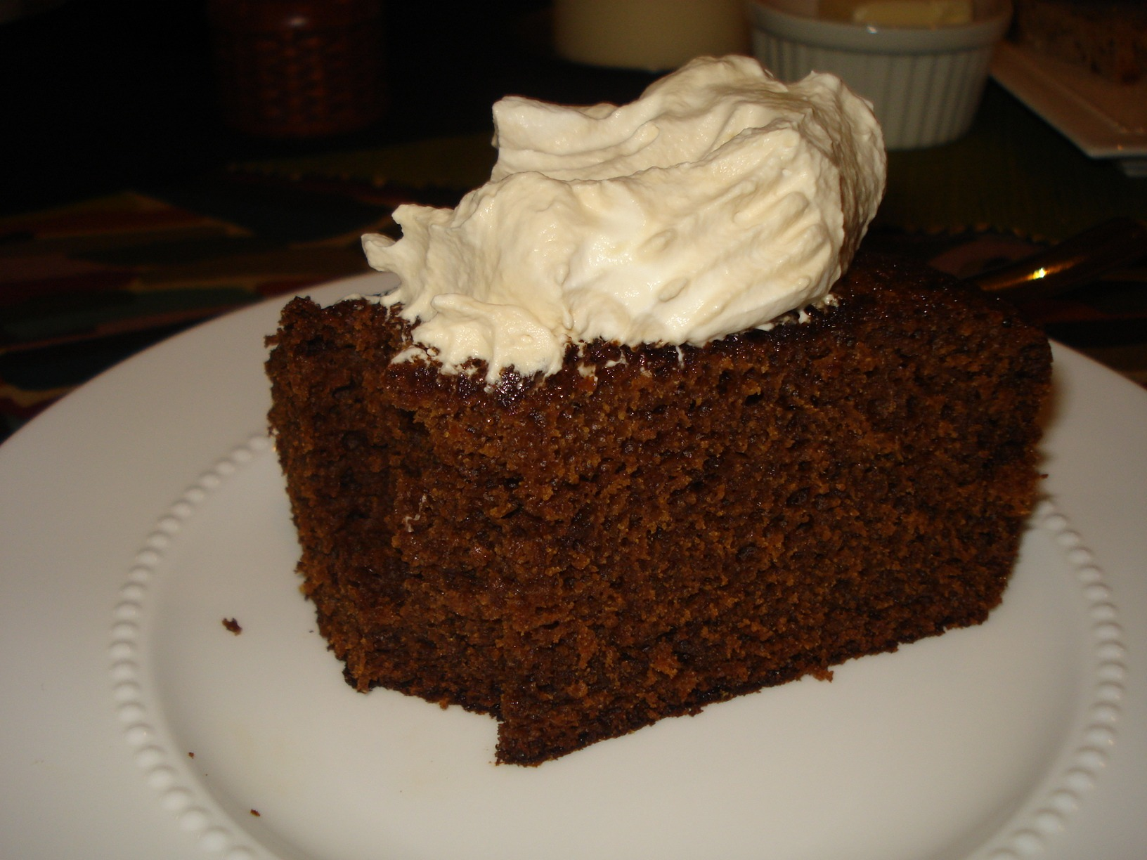 Low Fat Gingerbread Cake 98