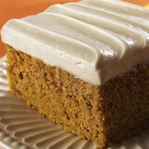 Low Carb Almond Pumpkin Cake-Maple Cream Cheese Icing