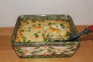 Creamed Chicken And Spaghetti Squash Bake