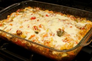 Low Carb Baked Spaghetti Squash Casserole