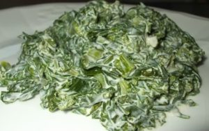 Low Carb Creamed Kale