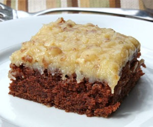 Low Carb German Chocolate Cake