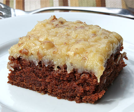 Low Carb German Chocolate Cake Keto Diabetic Chef S Recipe