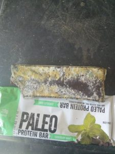 Moldy Chocolate Mint Paleo Bar