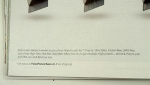 Paleo Magazine Ad Text