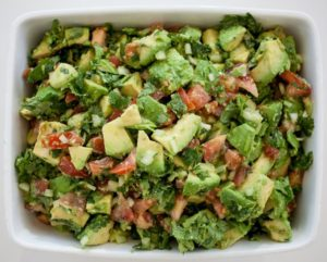 Chunky Guacamole Salad