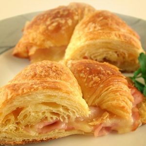 WiO Smart Croissant Egg-Ham-Cheese