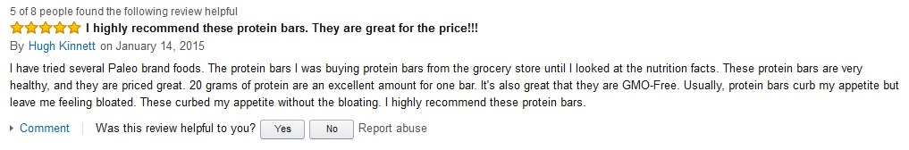 Hugh Kinnett Hidden Julian Bakery Review on Amazon