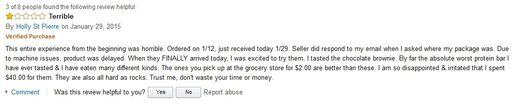 Holly St Pierre Hidden Julian Bakery Review on Amazon