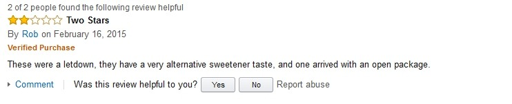 Rob Hidden Julian Bakery Review on Amazon