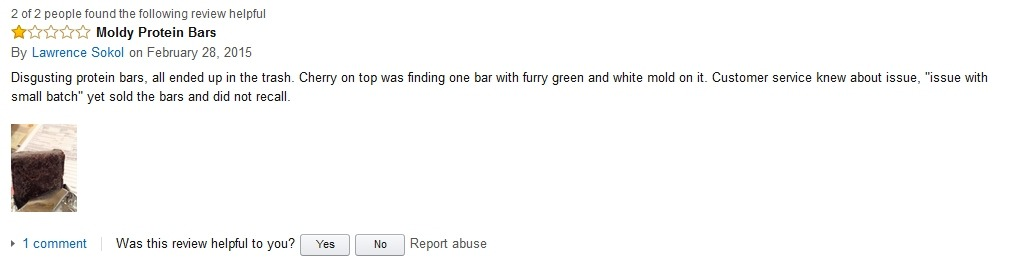 Lawrence Sokol Hidden Julian Bakery Review on Amazon
