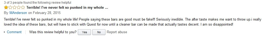 MAnderson Hidden Julian Bakery Review on Amazon
