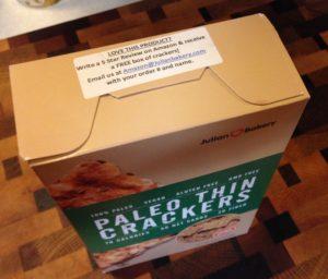 Crackers Box Closeup