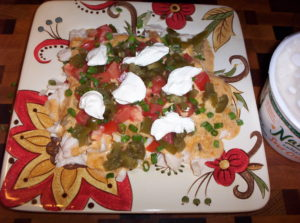 Low Carb Chicken Nachos