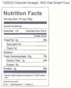 WiO Diet Smart Flour