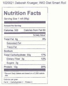 WiO Diet Smart Roll