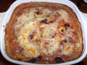 Keto Beef Blue Cheese Parmesan Bake