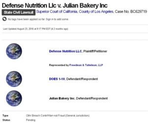 Defense Nutrition vs Julian Bakery