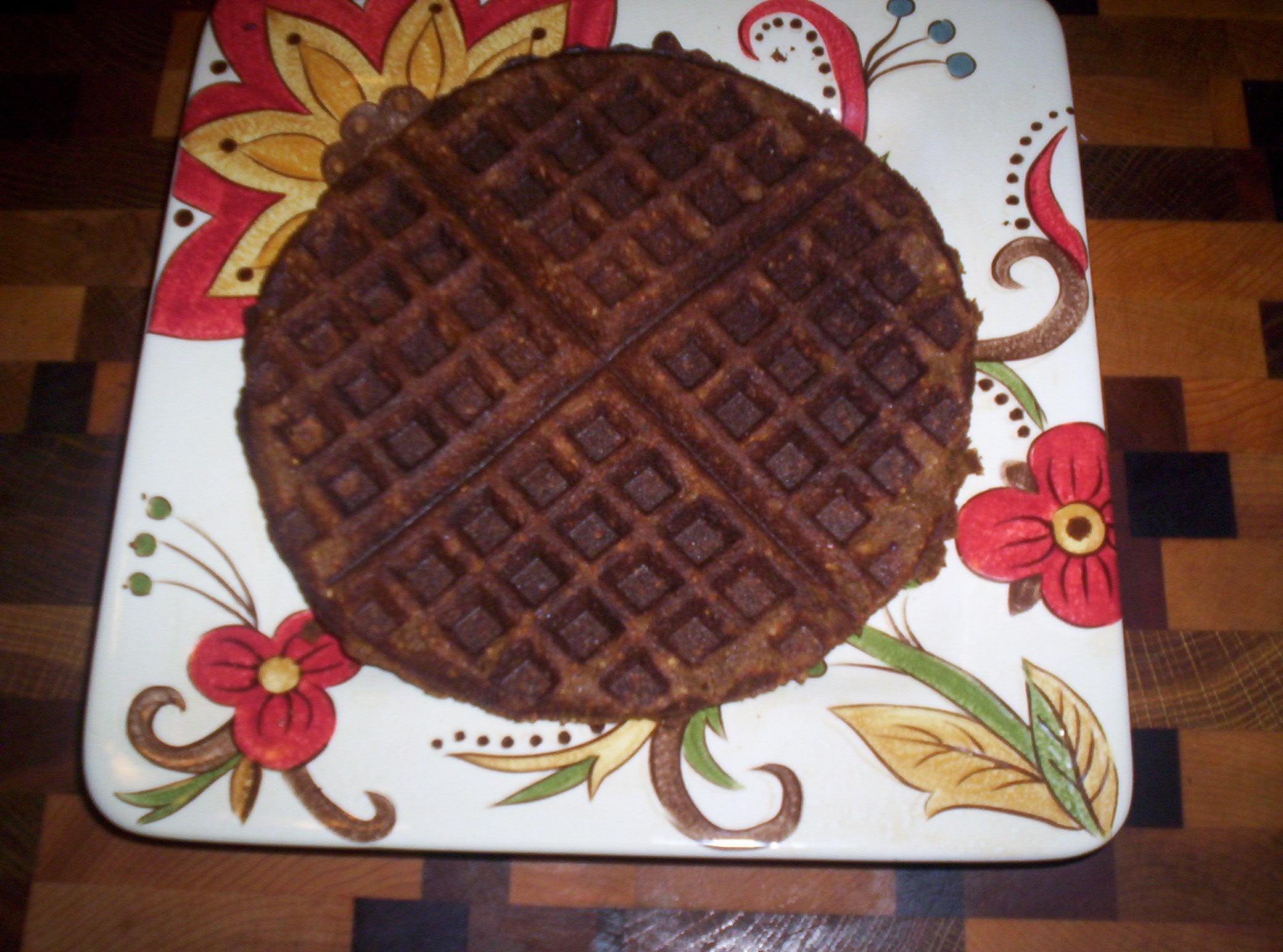 Low Carb Gingerbread Waffles - Low-Carb Scams